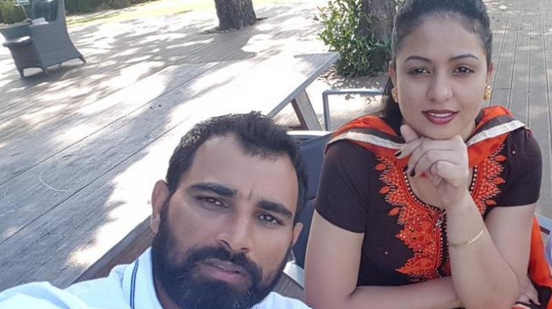 Mohammed Shami's wife lost her temper and allegedly misbehaved with the reporters