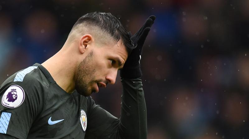 Aguero will have a big part to play if City are to land a first ever Champions League after easing into the quarter-finals for just the second time in the club's history. (Photo: AFP)