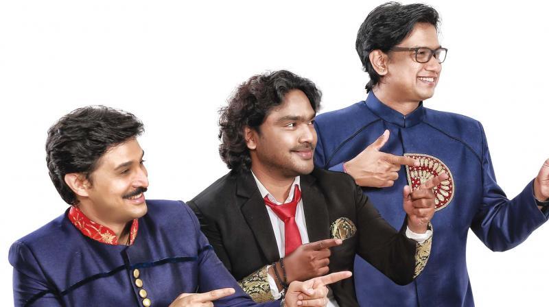 Rajesh Krishnan, Arjun Janya and Vijay Prakash