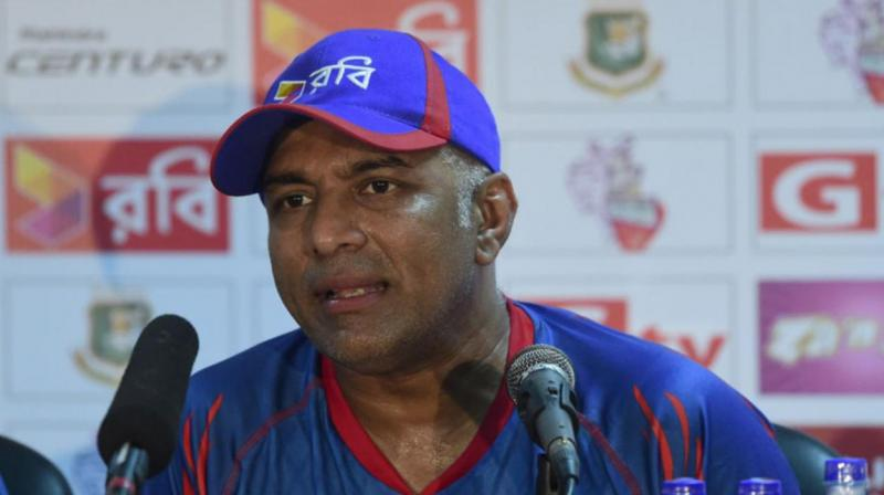"""Hathurusinghe will be replaced and a new coach, a foreigner, will be hired soon"", the source, speaking exclusively, said. (Photo: AFP)"