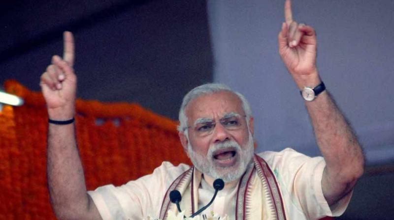 On the first anniversary of demonetisation, Prime Minister Narendra Modi on Wednesday shared a short film on success of note ban and tweeted, 'I bow to the people of India for steadfastly supporting the several measures taken by the Government to eradicate corruption and black money.' (Photo: File | PTI)