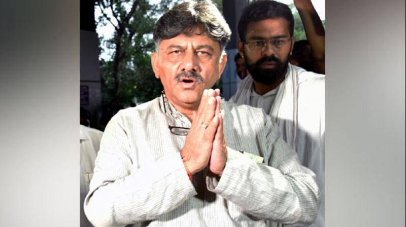 D K Shivakumar is currently in Enforcement Directorate (ED) custody till September 13 in connection with an alleged money laundering case and his bail application also will be heard on the same day. (Photo: ANI)