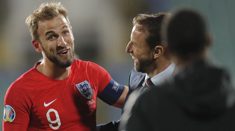 The match official was even seen discussing the matter with England skipper Hary Kane and an announcement was also made at the stadium. (Photo: AP)