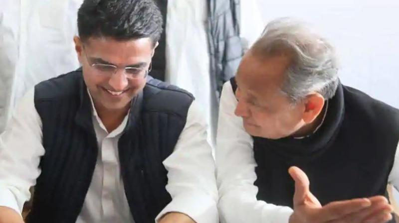 Earlier, Gehlot had said that he deserved to be CM as after the Assembly elections; people had wanted only him and no one else to be Chief Minister. (Photo: File)