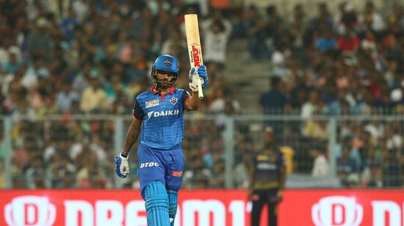 Dhawan was however denied his maiden T20 century, as Colin Ingram smashed one into the stands to finish the game in style. (Photo: BCCI)
