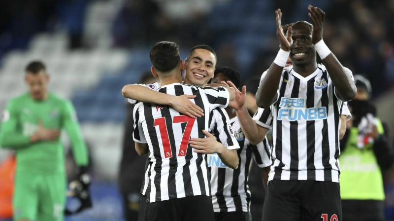 Newcastle's first away league win since December ended a run of four games without a victory which had threatened to drag them into the relegation dogfight. (Photo: AP)