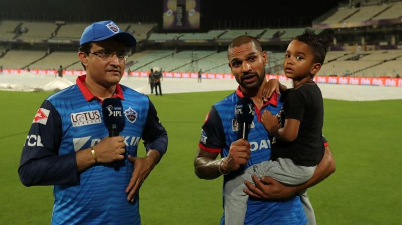 Delhi Capitals advisor Sourav Ganguly described Shikhar Dhawan as one of the best opening batsmen in the world and revealed that his franchise was 'desperate' to rope in the left-hander after he left Sunrisers Hyderabad. (Photo: BCCI)
