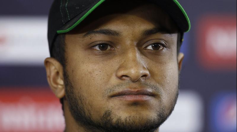 Shakib Al Hasan is currently the world's number one ODI all-rounder. (Photo: AP/File)
