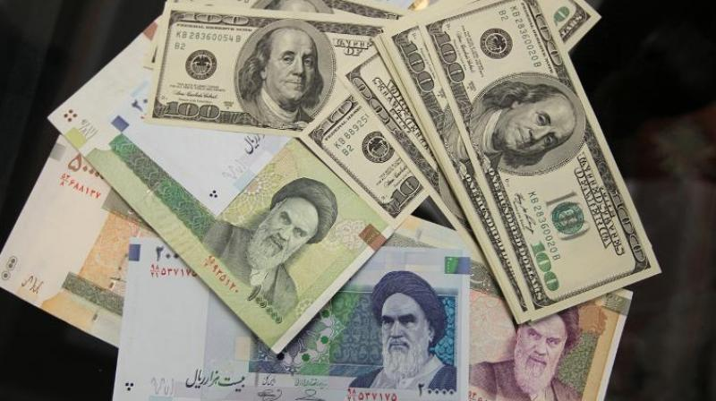 Iran's currency in free fall as American sanctions loom