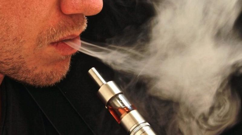 Some flavoured e-cigarettes, even in the absence of nicotine, can worsen disease severity. (Photo: ANI)