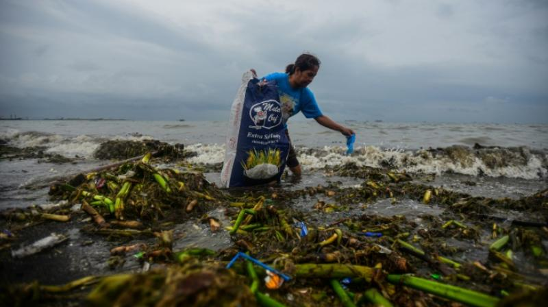 A landmark UN report to be unveiled next week will warn global warming and pollution are ravaging Earth's oceans and icy regions in ways that could unleash misery on a global scale. (Photo: AFP)