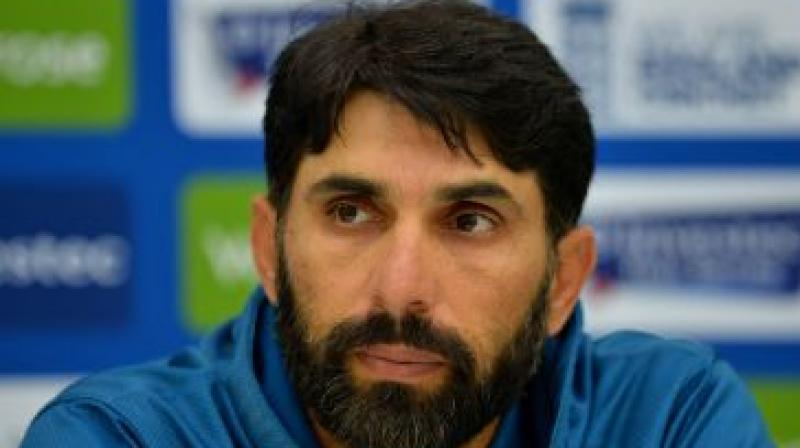 Misbah answered the question tactfully as he asked the journalist to stick to questions related to cricket. (Photo: File)