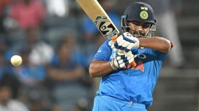 Rishabh Pant's form would be an important sub-plot when India look to seize the advantage against South Africa in the second T20 International. (Photo:AFP)