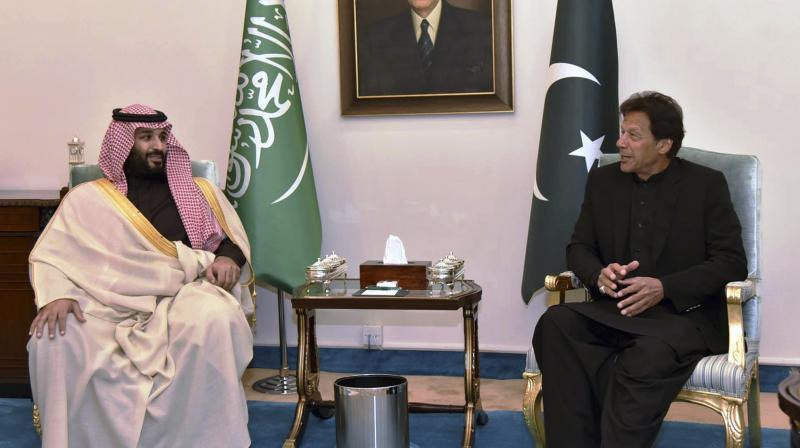 Pakistan and Saudi officials signed MoUs for bilateral cooperation in a number of areas. (Photo:AP)