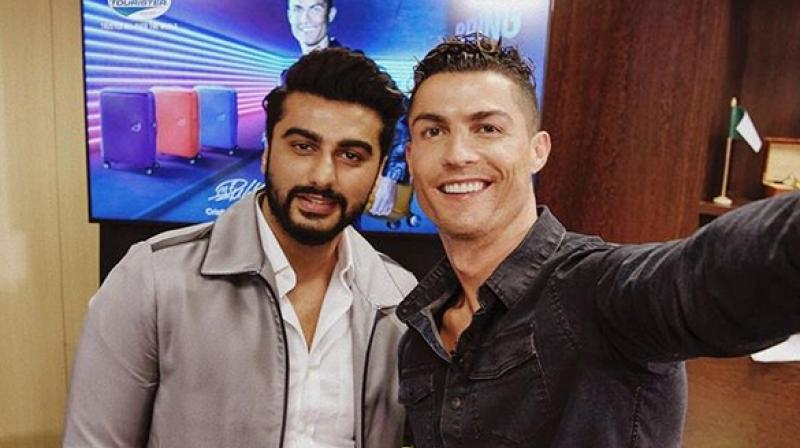 When Arjun Kapoor met Cristiano Ronaldo and invited him to India