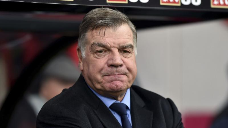 Sam Allardyce's pragmatic style of play has been unpopular with many Everton fans. (Photo: AP)