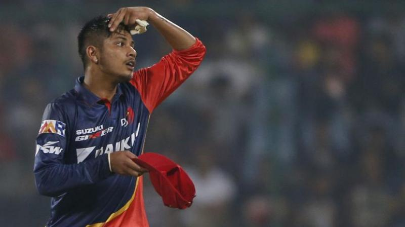 Lamichhane became the first Nepal player to be picked in the IPL, signed up by the Delhi Daredevils. (Photo: AP)
