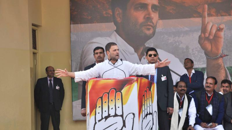 Freeze Congs Poll Symbol Over Rahuls Hand Remark Bjp To Ec