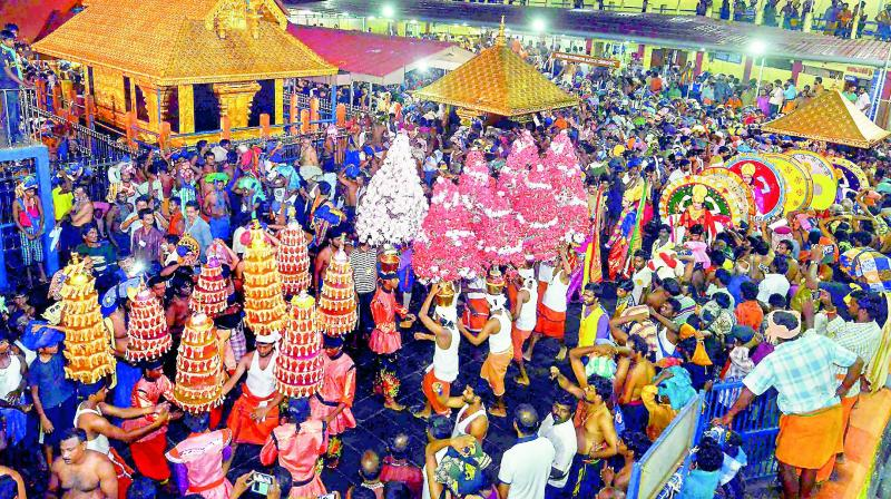 On October 28, the Supreme Court lifted the ban on entry of women of menstrual age into Sabarimala temple. (Photo: File | PTI)