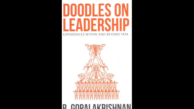 DOODLES ON  LEADERSHIP -  EXPERIENCES WITHIN AND BEYOND TATA by R GOPALAKRISHNAN,  Published by Rupa Publications India Pvt Ltd., New Delhi, 2019 (price Rs 500/-)