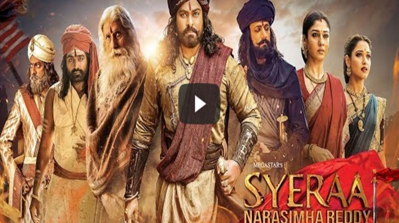 Sye Raa Narasimha Reddy teaser. (Photo: YouTube)