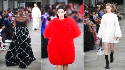 Fashion house's first show in Tokyo saw creative director Pierpaolo Piccioli celebrating Japanese culture. (Photos: AP)