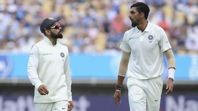 McGrath acknowledged the fact that playing on sub-continent tracks might have contributed to a not so impressive record of Ishant, who has taken 244 wickets in 83 Tests. (Photo: AP)