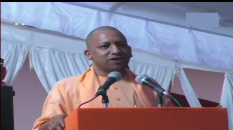 Uttar Pradesh Chief Minister Yogi Adityanath was speaking at an event in Rajasthan's Bikaner. (Photo: ANI)
