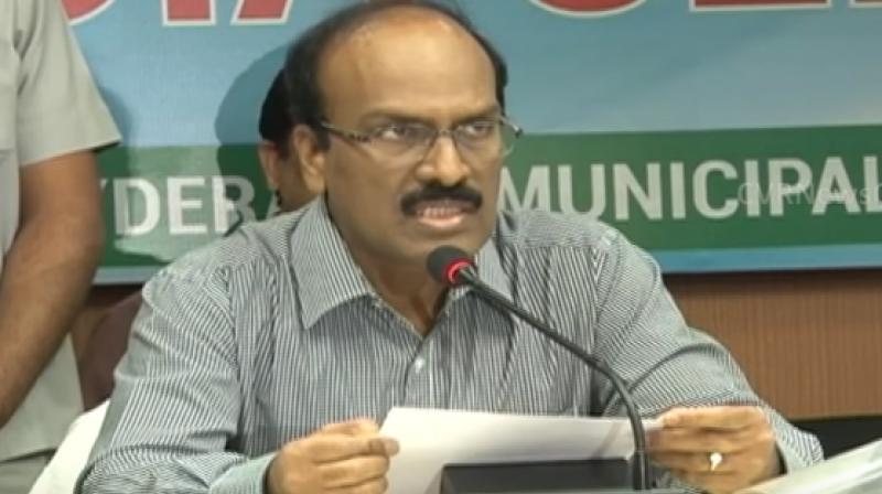GHMC commissioner B Janardhan Reddy (Photo: Youtube | Screengrab)