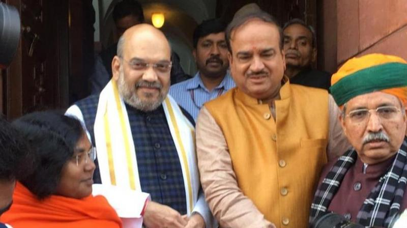 A new political turf for BJP's 'chanakya', Amit Shah enters Rajya Sabha