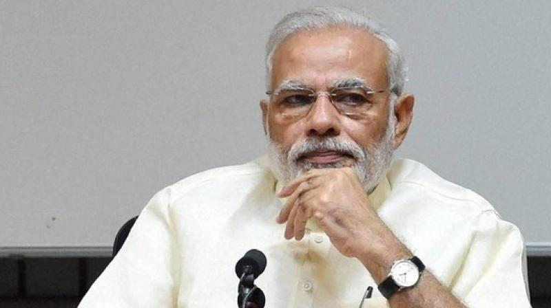 Clearly in his enthusiasm to suggest Congress governments have ill-treated the military heroes of Karnataka, the PM has got practically all his facts wrong and ended up embarrassing himself. (Photo: PTI)