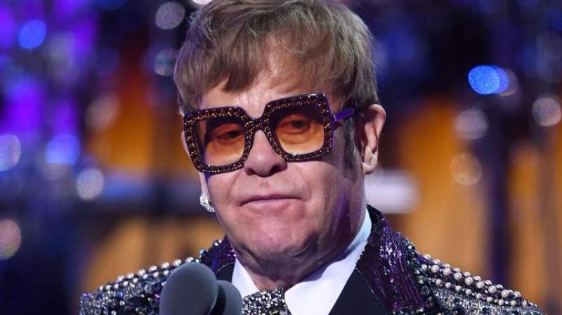 Elton John. (Photo: AFP)