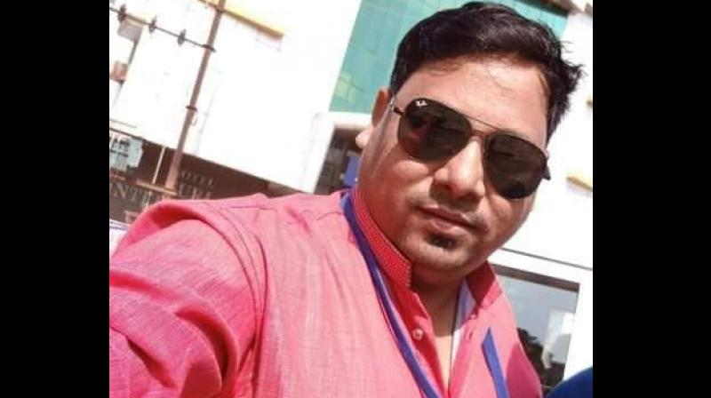 DD News cameraman Achyuta Nanda Sahu was killed in a Maoist attack in Chhattisgarh. (Photo: Facebook | Achyuta Nanda Sahu)