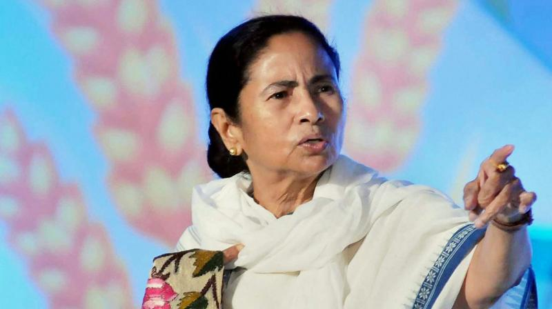 The West Bengal Chief Minister on Thursday asserted that the BJP was not a threat as the regional parties were enough to tackle it. (Photo: PTI)