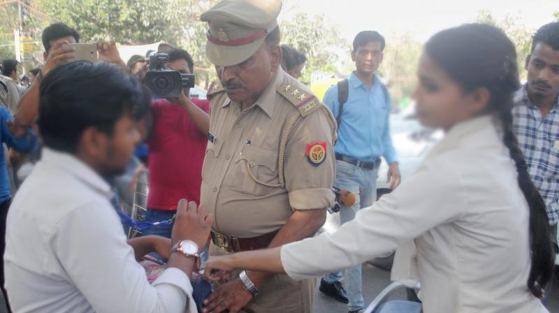 Senior police officials said the sensitisation programme would bring about a huge change in the way the anti-Romeo squad initiative is perceived by general public. (Photo:PTI)