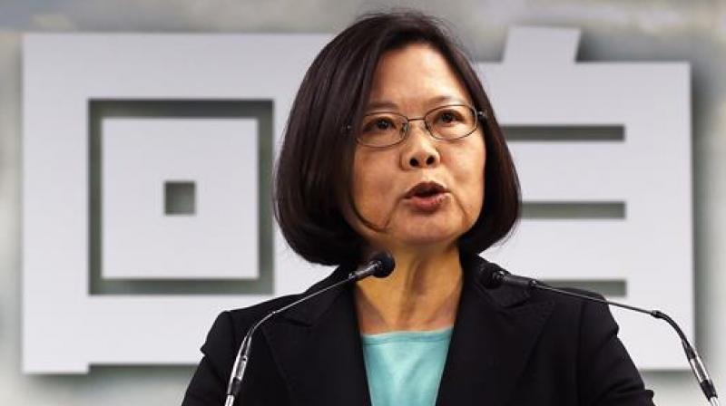 The presidential office in the centre of the capital Taipei is the headquarters of Taiwan's Beijing-sceptic President Tsai Ing-wen. (Photo: AFP)