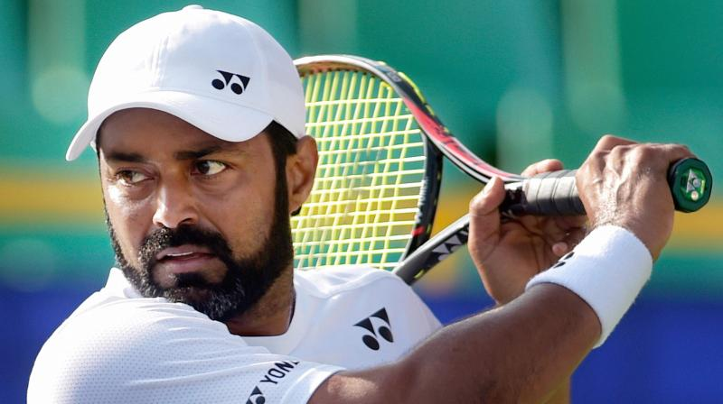 Paes and Brazilian Andre Sa began the 2017 season with a defeat against Indian team of Purav Raja and Divij Sharan in the opening round on Wednesday night. (Photo: PTI)