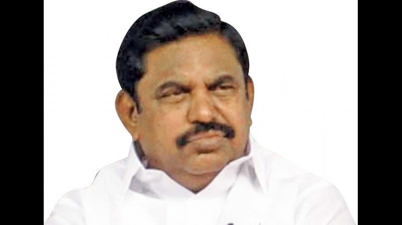 Tamil Nadu Chief Minister Edappadi K Palaniswami