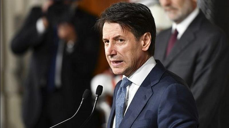 Italian Prime Minister Giuseppe Conte on Tuesday said that Italy will ensure orderly Brexit. (Photo: AFP)