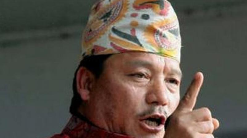 A massive search operation launched by the West Bengal police for the absconding Gorkha Janmukti chief Bimal Gurung continued even on Sunday. (Photo: PTI)