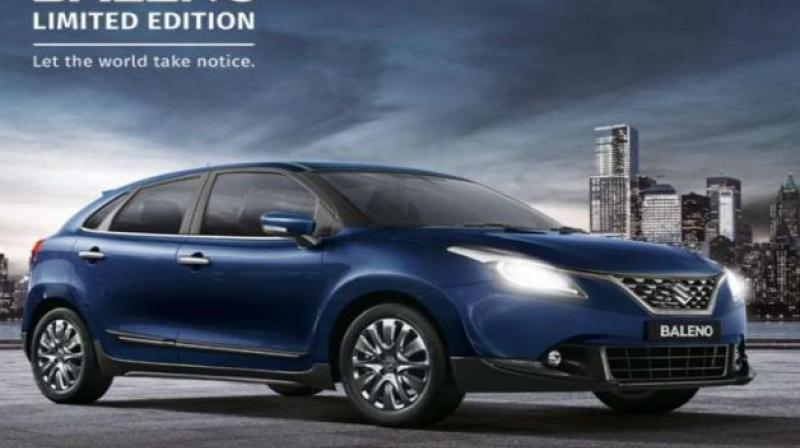 Maruti has made a limited edition variant of the hatchback available at Nexa showrooms.