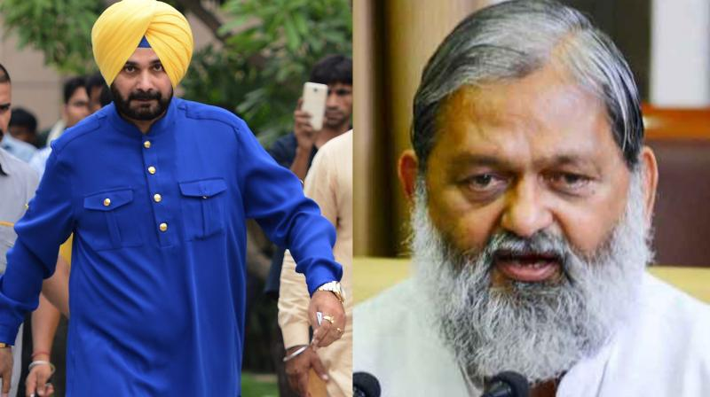 Haryana Health Minister Anil Vij termed Navjot Sidhu's participation in the Imran Khan's oath-taking ceremony as an