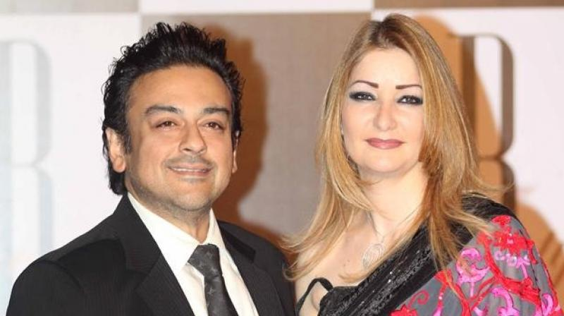 Singer Adnan Sami And Wife Roya Blessed With An Angelic Baby Girl