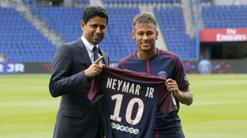 Neymar insisted he did not disrespect the Catalan club in activating his release clause.(Photo: AP)