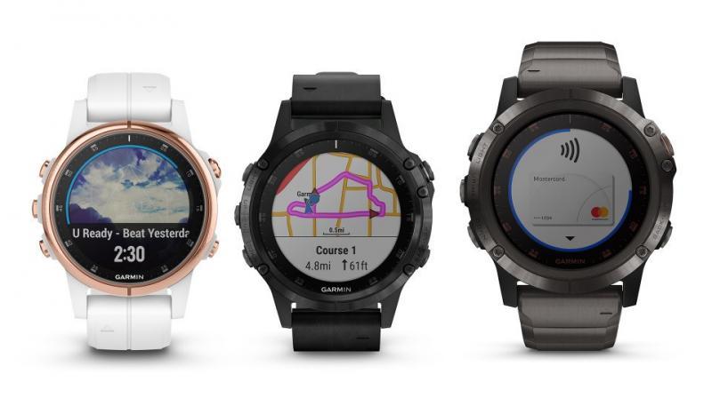 Garmin Launches Fenix 5 Plus Range Of Smartwatches