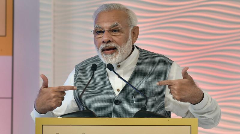 Aadhaar to work as big weapon against benami property: PM