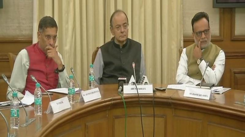 India has standardised itself for 7-8 pc growth rate: Jaitley