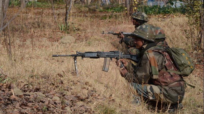 Soldier injured in encounter with militants in Sopore