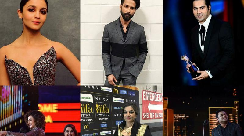 Bollywood stars dazzling at Bollywood's prestigious Award show in New York. (Photos: Instagram