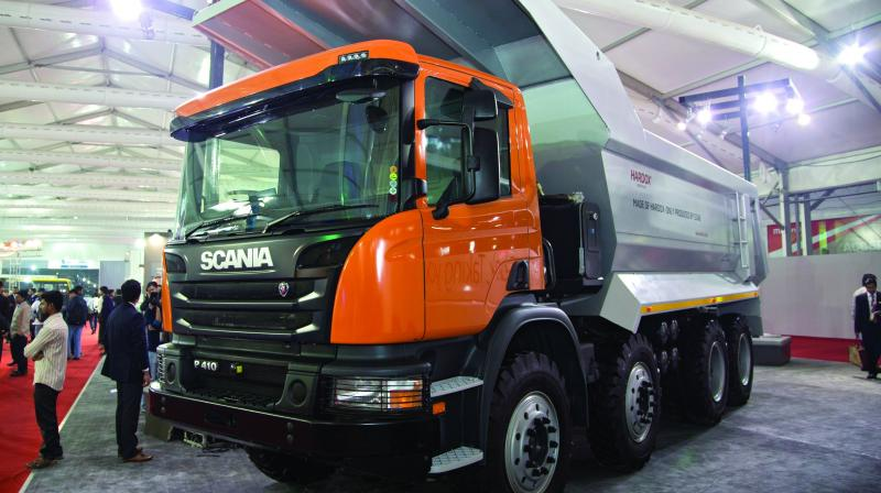 w Tipper sales saw strong growth of 21 per cent and the I&LCV truck segment grew by 4 per cent.